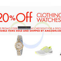 Read more about Amazon.com 20% OFF Fashion, Shoes, Watches & More Coupon Code 14 - 23 Aug 2014