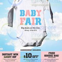 John Little Baby Fair 28 Aug - 8 Sep 2014