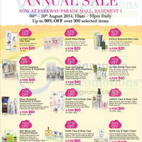 Read more about Beauty by Nature Annual Sale @ Parkway Parade 4 - 10 Aug 2014