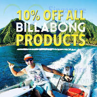 Read more about Billabong 10% OFF Storewide @ Isetan 22 - 24 Aug 2014