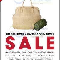 Read more about Brandsfever Handbags & Footwear Sale @ Mandarin Orchard 15 - 16 Aug 2014