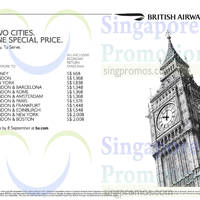 Read more about British Airways From $668 Promotion Air Fares 16 Aug - 8 Sep 2014
