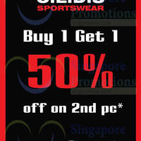 Read more about C.E.D.S Sportswear 50% OFF 2nd Item Promo 31 Jul - 31 Aug 2014
