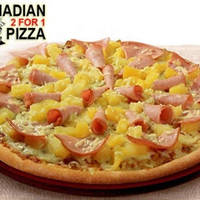 "Canadian Pizza 42% OFF 12"" Super Value Pizza @ 23 Outlets 27 Aug 2014"