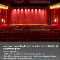 Read more about Cathay Cineplexes MasterCard Tickets Promo 15 Aug - 31 Dec 2014