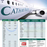 Read more about Cathay Pacific Promotion Air Fares For DBS/POSB Cardmembers 14 Aug - 23 Sep 2014