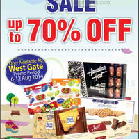 Read more about Choc Spot Sale @ Westgate 6 - 12 Aug 2014
