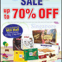 Read more about Chocspot SALE @ Nex 27 Aug - 2 Sep 2014