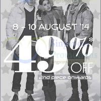 Read more about Coldwear 49% OFF Second Piece Promo 8 - 10 Aug 2014