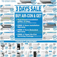 Read more about Courts Air Conditioners 3 Day Sale Offers 1 - 3 Aug 2014