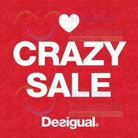 Read more about Desigual 50% OFF T-Shirts Promo 31 Jul - 7 Aug 2014