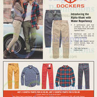 Dockers New Alpha Khaki with Water Repellency 29 Aug 2014