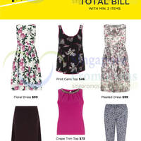 Read more about Dorothy Perkins 20% OFF Total Bill Promo 8 - 10 Aug 2014