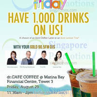 Read more about Dr.Cafe FREE Coffee Giveaway @ Marina Bay Financial Centre 29 Aug 2014