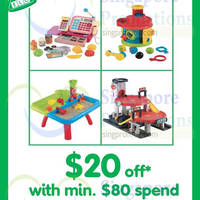 Read more about Early Learning Centre $20 Off Coupon 15 - 31 Aug 2014