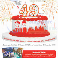 Read more about Expedia $49 Hotels National Day Deals 6 - 17 Aug 2014