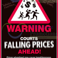 Read more about Courts Falling Prices Offers 16 - 17 Aug 2014