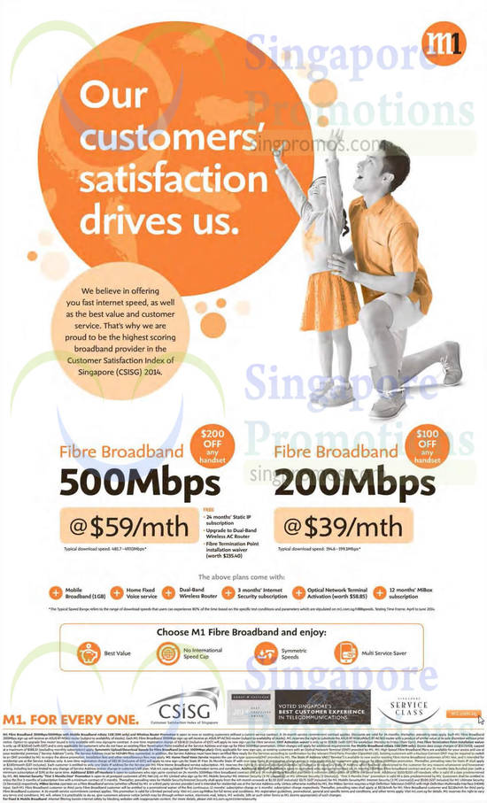 Fibre Broadband 59.00 500Mbps, 39.00 200Mbps