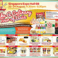 Read more about Food of Asia 2014 @ Singapore Expo 22 - 24 Aug 2014
