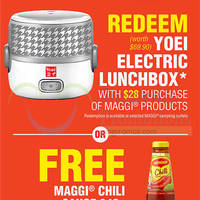 Read more about Maggi Buy $28 Worth & Get FREE Yoei Electric Lunchbox 1 - 31 Aug 2014