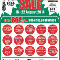 Read more about Golf House SALE @ Wisma Gulab 18 - 22 Aug 2014