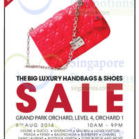 Read more about Brandsfever Handbags & Footwear Sale @ Two Locations 8 - 9 Aug 2014
