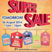 Read more about Guardian Up To 80% OFF One Day Super SALE 6 Aug 2014