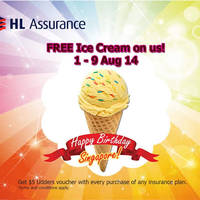 Read more about HL Assurance Insurance Free Udders Ice Cream Promo 1 - 9 Aug 2014