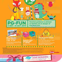 Read more about Harbourfront Centre PG-Fun Activities 5 Sep - 31 Oct 2014