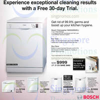 Read more about Harvey Norman Bosch Dishwasher Offers 28 Aug - 3 Sep 2014