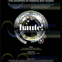Read more about Haute Watch & Jewellery Exhibition @ Marina Bay Sands 15 - 24 Aug 2014