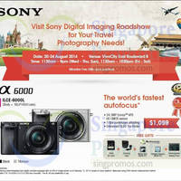 Sony Digital Imaging Roadshow @ VivoCity 20 - 24 Aug 2014