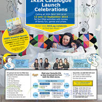 IKEA NEW 2015 Catalogue Launch Celebrations 12 - 13 Sep 2014