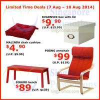 Read more about IKEA Limited Time Deals 7 - 10 Aug 2014