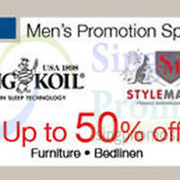 Read more about Isetan King Koil & Stylemaster Promo @ Isetan Katong 21 - 31 Aug 2014