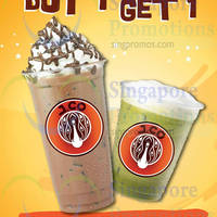 J.CO Donuts & Coffee 1 For 1 Drink @ One Raffles Place 28 Aug - 30 Sep 2014