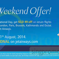 Read more about Jet Airways $49 OFF Coupon Code 8 - 11 Aug 2014