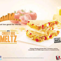 KFC Cheesy BBQ Melts is BACK 20 Aug 2014