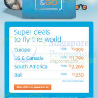 Read more about KLM From $999 Europe Promo Air Fares 26 Aug - 19 Sep 2014