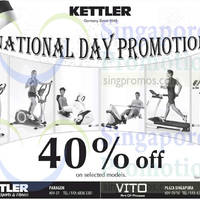 Read more about Kettler 40% OFF Selected Models Promo 1 Aug 2014
