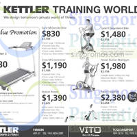 Read more about Kettler Fitness Equipment Offers 15 Aug 2014