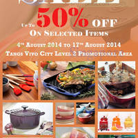 Read more about Le Creuset Up To 50% Off Promotion 4 - 17 Aug 2014