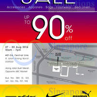 Read more about Link THM Warehouse SALE Up To 90% OFF 27 - 30 Aug 2014