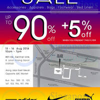 Read more about Link THM Warehouse SALE Up To 90% OFF 13 - 16 Aug 2014