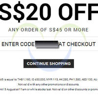 Read more about Luxola $20 OFF Storewide Coupon Code 4 - 5 Aug 2014