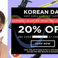 Read more about Luxola 20% OFF Korean Brands Coupon Code (NO Min Spend) 8 - 11 Aug 2014