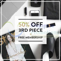Read more about MDS Collections 50% OFF 3rd Piece Promo 15 Aug 2014