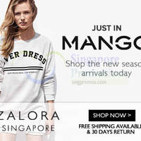 Mango New Arrivals Now Available @ Zalora 30 Aug 2014