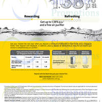 Read more about Maybank Time Deposits Up To 1.38% p.a. Interest Rates 5 Aug - 30 Sep 2014