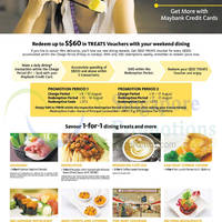 Read more about Maybank 1 For 1 Dining Treats & More 8 Aug - 30 Sep 2014